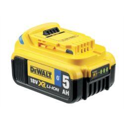 Akkumulátor, 18V 5.0Ah XR Li-Ion Tool Connect Bluetooth