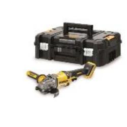 54V XR FLEXVOLT 125mm Sarokcsiszoló akkumulátor nélkül T-STAk kompatibilis tartós kofferben