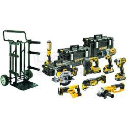DCK897P4 - 18V XR combo Kit (DCS387,DCS355,DCH273,DCD996,DCS391,DCG412,DCL050,DCF887,DCB102,4 x DCB184,Tough System Solution)