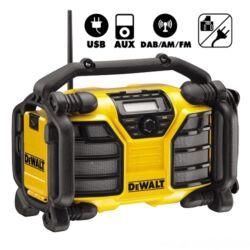 DCR017 - XR Akkumulátoros DAB Radio/Töltő, hálózati/DW akku 18.0V-ig (akku nélkül szállitva)