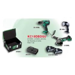KC18DBDGU akkus gépcsomag