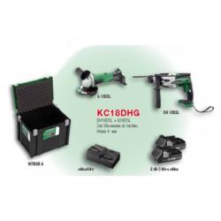 KC18DHG akkus gépcsomag