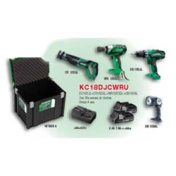 KC18DJCWRU akkus gépcsomag