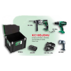 KC18DJDHU akkus gépcsomag