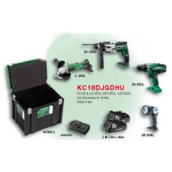 KC18DJGDHU akkus gépcsomag