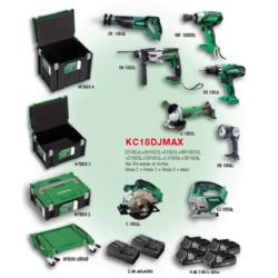 KC18DJMAX akkus gépcsomag