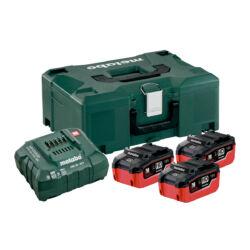 Basic szett 3 x 18 V -LiHD 5,5 Ah, ASC 30-36,  ML