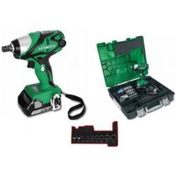 WR18DSDL Akkus ütvecsavarozó 2X2.5 Ah akukkal + gépi dugókulcs készlettel